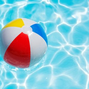 beach ball swimming pool summer