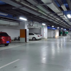 basement parking lot